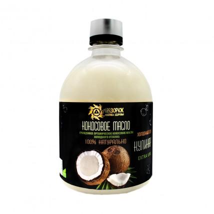 Масло кокосовое кулинарное 500 мл.