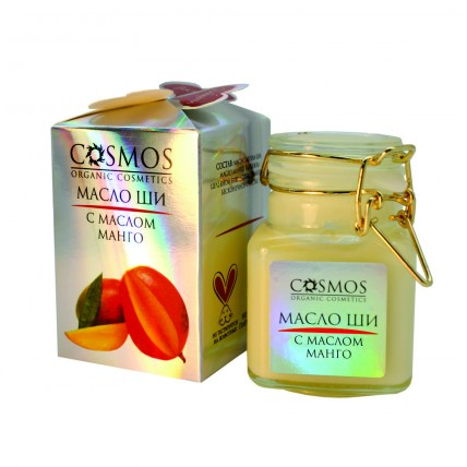 "Масло ши с маслом манго ""COSMOS"" 100 гр."