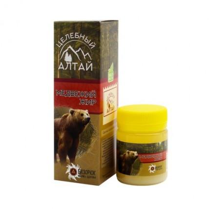Медвежий жир Целебный Алтай. Пластик 40 мл